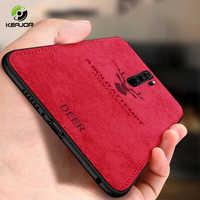 Fall Für Xiaomi Redmi Hinweis 8 Pro Fall Abdeckung Klassische Stoff Fundas Silikon Rahmen Zurück Abdeckung Für Xiaomi Redmi Note8 pro Coques