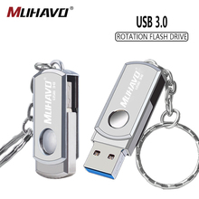 High Speed usb flash drive 3.0 16gb Metal pen drive 3.0 64gb usb flash 128gb Rotatable pendrive 32gb 8gb flash drive Pen memory genuine original sandisk ultra usb3 1 z800 usb flash drive 128gb 64gb pendrive 32gb 16gb pen drive support official verification