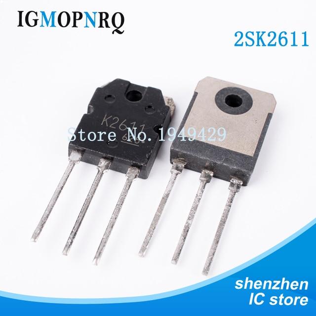 10PCS 2SK2611 TO 3P K2611 MOSFET MOSFET N ch 900V 9A Rdson 1.4 אוהם חדש מקורי משלוח חינם