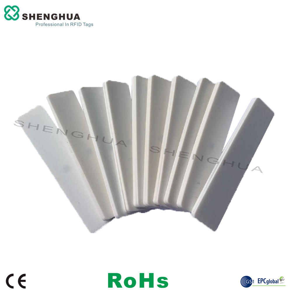10pcs/pack High Temperature RFID Laundry Smart Tag RFID White Blank Small Silicone Laundry Tag Srticker For Hotel Towel