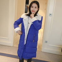 Back Winter Season Cotton padded Clothes Lamb Wool Coat Woman Chic Cotton Easy Ins Cotton padded Jacket Bread Serve
