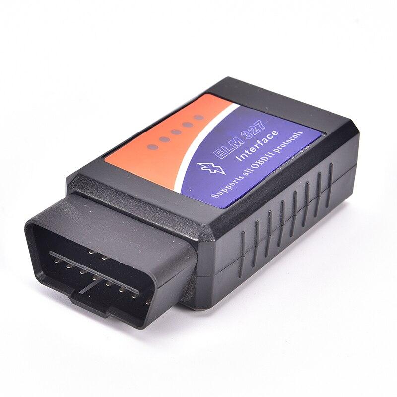 Univrsal-herramienta de diagnóstico V1.5 ELM327 WIFI OBD2/OBDII, escáner de diagnóstico para automóvil ELM 327, WiFi, nueva versión de 50 pies