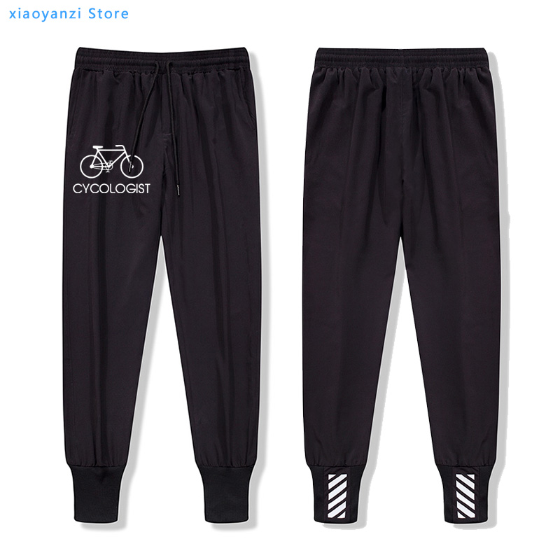 Bike men pants Bicycle Graphic Print Men's Casual Sweatpants Homme Fashionable Pure unisex Jogger Sports Hipster Casual Trousers