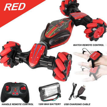 RC Car Gesture Induction Stunt Twist Cars Machine on the Radio Off-Road Remote Control Cars for Boys Climbing RC Buggy Car