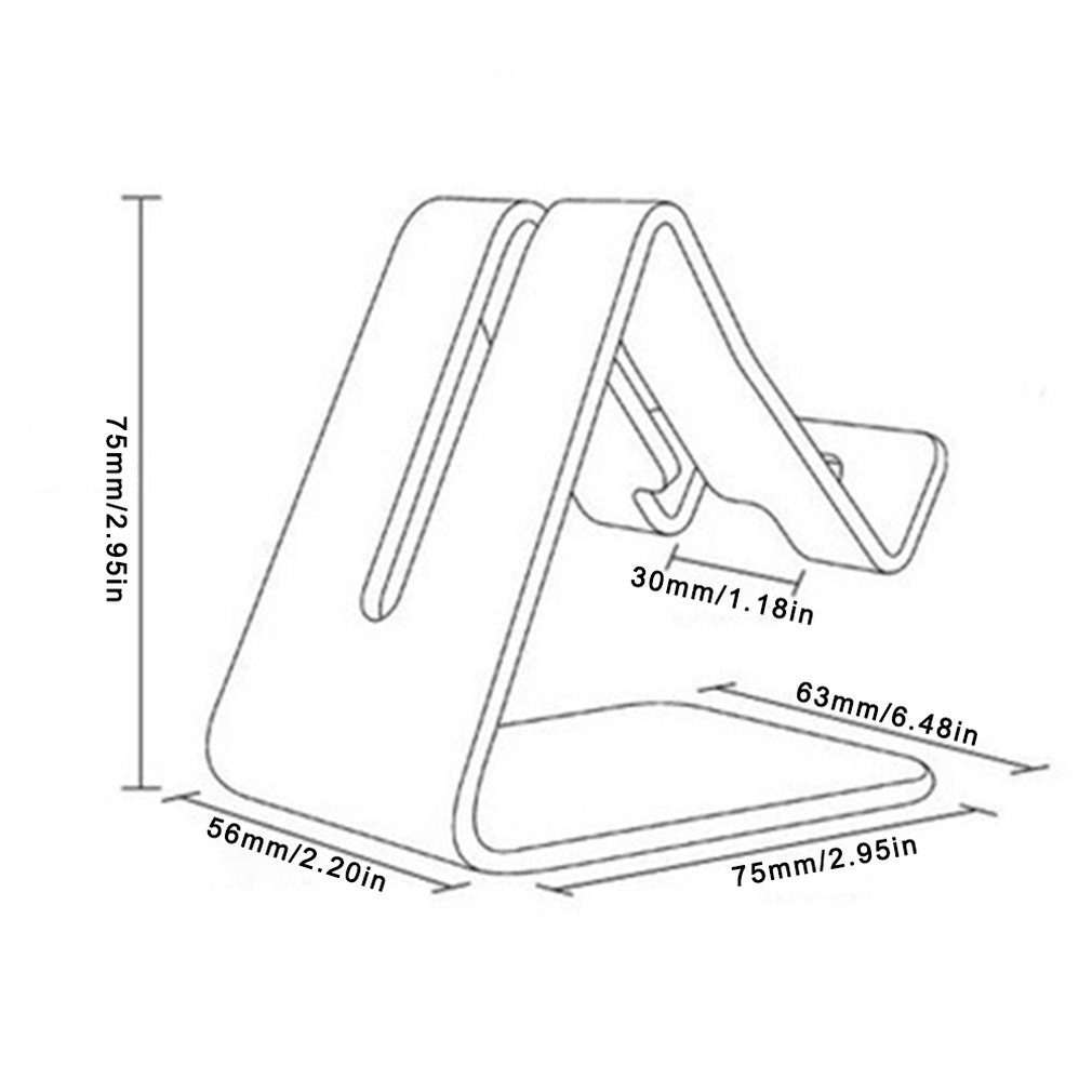 Купить с кэшбэком Universal Aluminium Alloy Smart Phone Stand Desk Holder Charge Stand Cradle Mount For iPhone Metal Tablets Stand For ipad Tablet