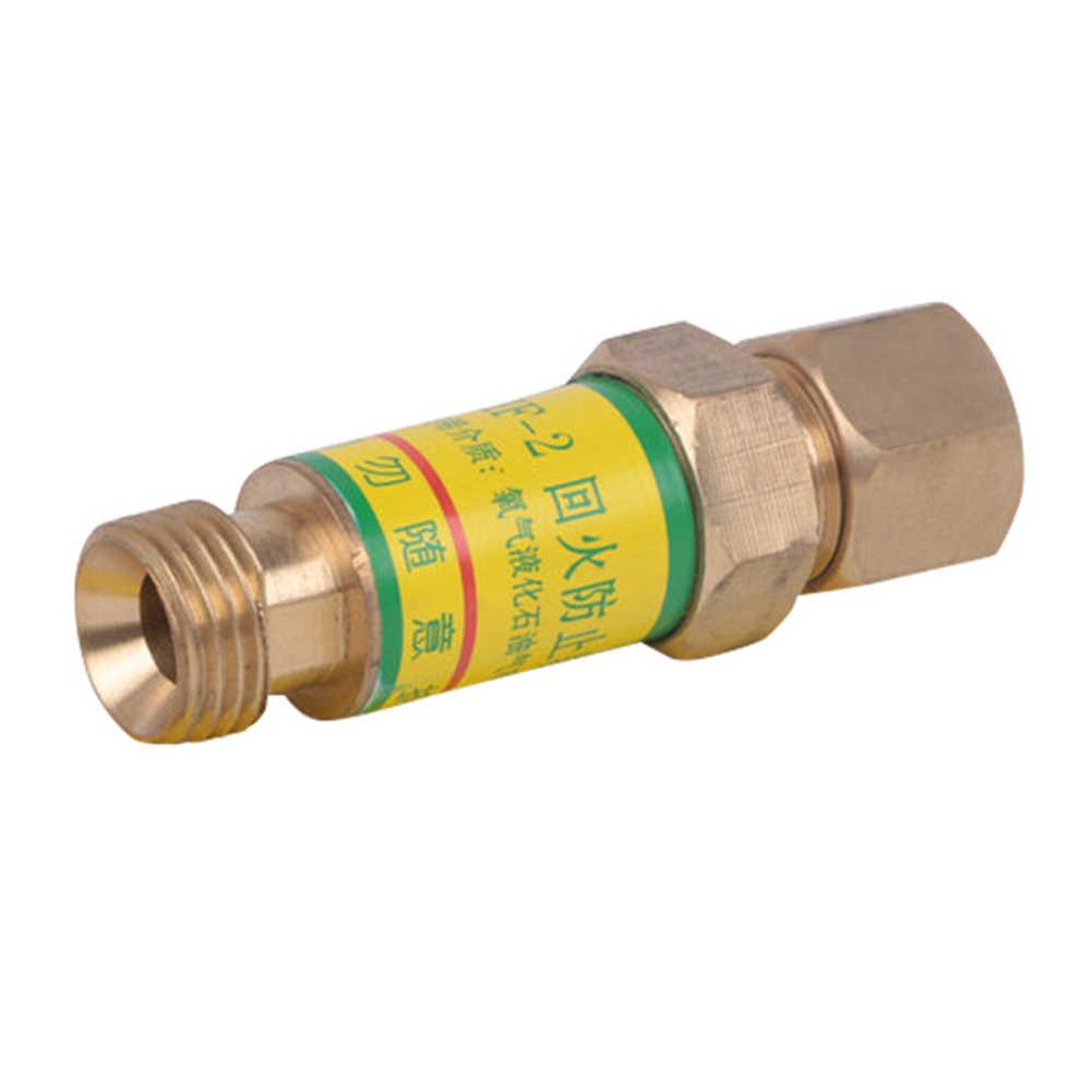 酸素アセチレンチェックバルブフラッシュバック避雷器圧力ため減速切断トーチ J8 #3
