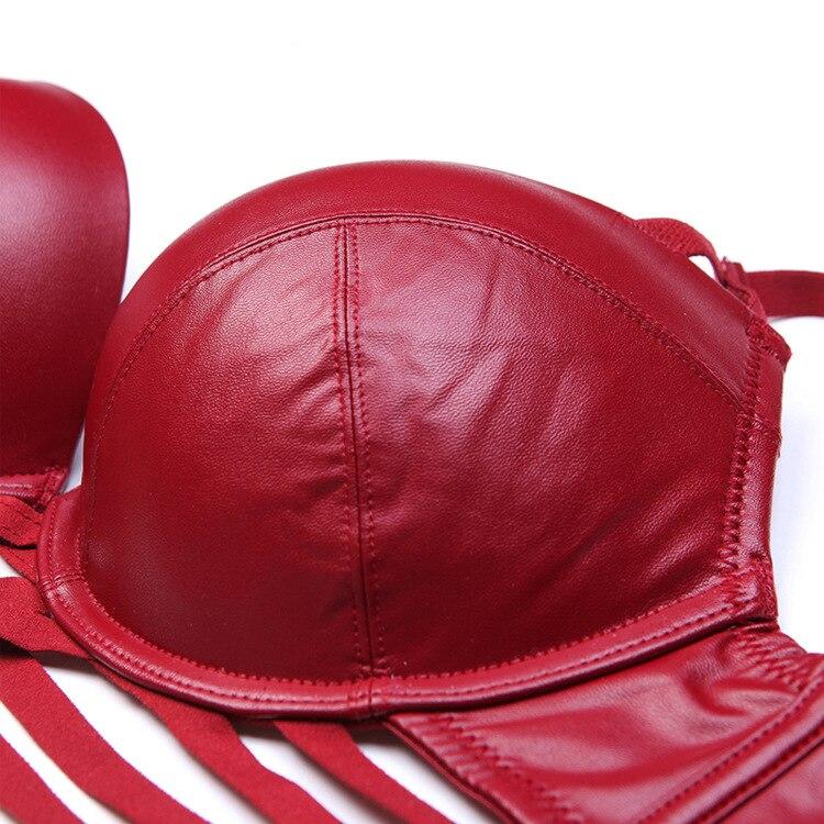 Wriufred Women's sexy bra set nightclub underwear