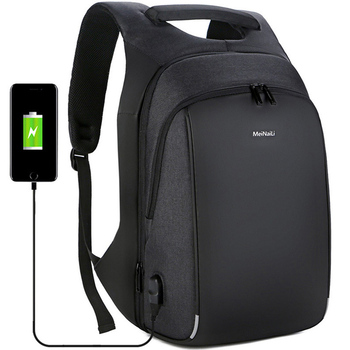 Multifunction Business Travel Backpacks Laptop Men's USB Charging Large Capacity Business Expansion Backpack Schoolbags 2019