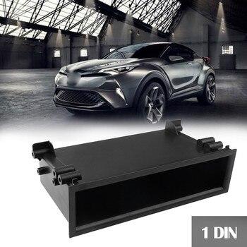 Samochód pudełko do przechowywania dla Toyota kieszeń szuflady remont Stereo konwersji Audio materiał montażowy ABS wysokiej jakości wytrzymała trwała 8X