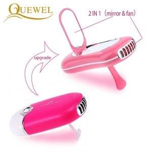 Image 2 - USB kirpik uzatma Mini Fan klima Blower Lashes hayranları tutkal aşılı kirpik adanmış kurutma makyaj araçları 5 renkler