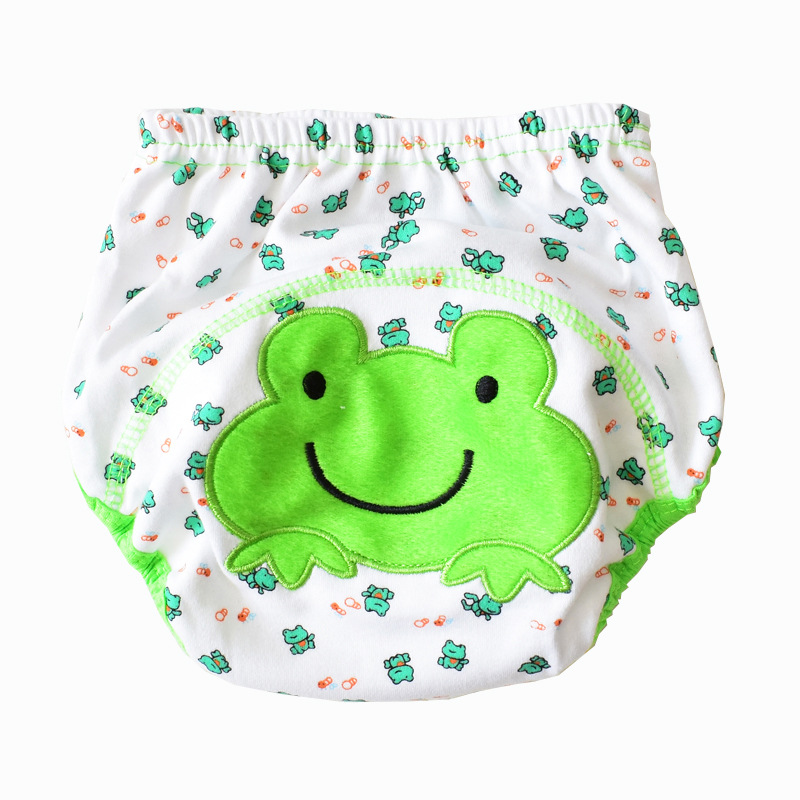 2019 New Style Hot Sales KID'S Swimwear Baby Swimming Trunks Diaper Cartoon Small Baby For Both Men And Women Baby Swimming Trun