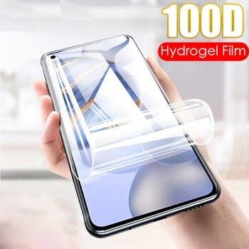 Перейти на Алиэкспресс и купить Защитная пленка для экрана для Infinix Note 7 Lite Полное покрытие мягкая Гидрогелевая пленка HD защитная пленка для Infinix Note 7 не закаленное стекло