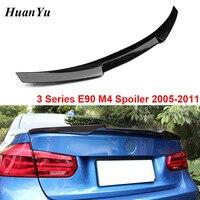 M4 Style Carbon Fiber Rear Ducktail for BMW 3 Series E90 & E90 M3 Trunk Duck Lip Wings Spoiler 320i 325i 335i 2005 2011