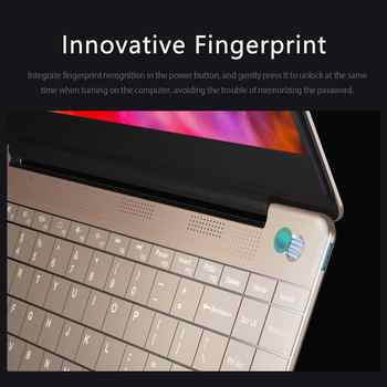 KUU Italian keyboard For Intel J4115 14.1-inch IPS Screen All Metal Shell Office Notebook 8GB RAM 512GB SSD with type C laptop