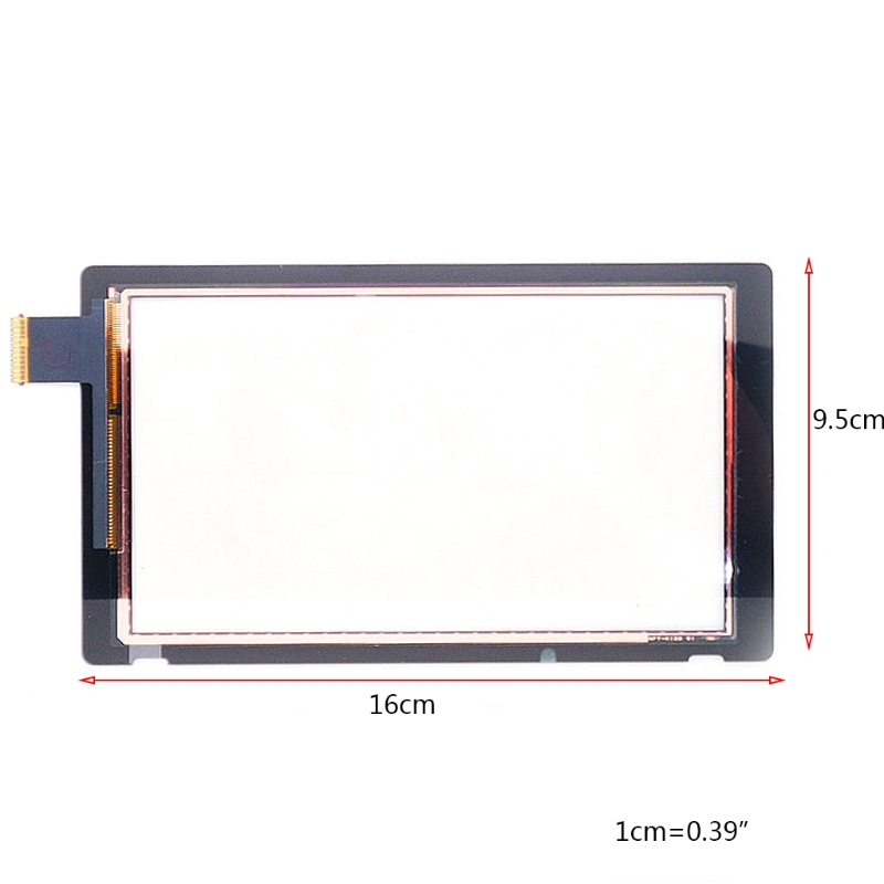 Replacement for Nintend Switch Touh Screen Digitizer +Adhesive Strips Sticker AXYF