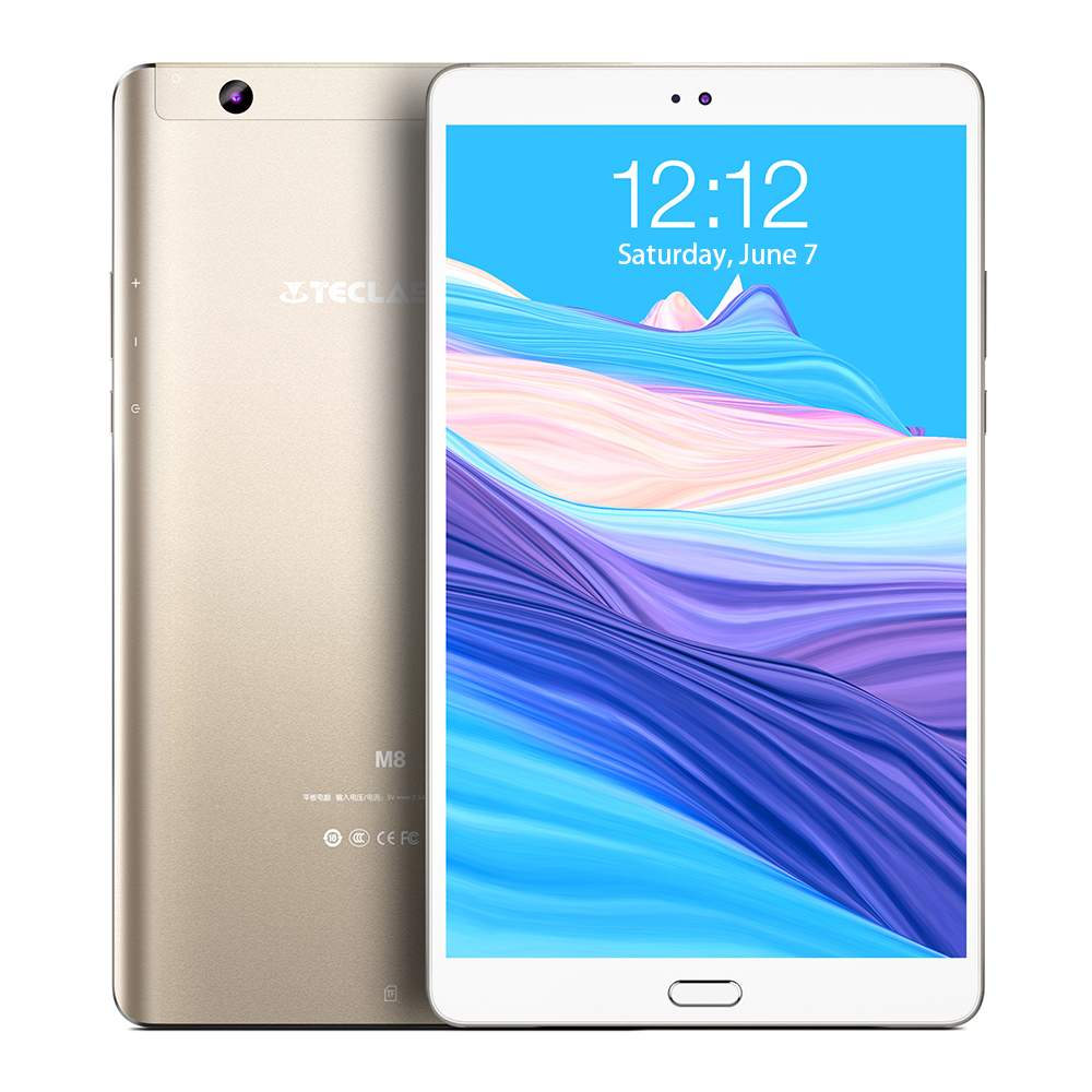 Teclast M8 8.4 Inch Tablet PC 3GB RAM LPDDR3 32GB ROM All-Winner A63 Quad Core 2560*1600 IPS Android 7.1 Multi-Language
