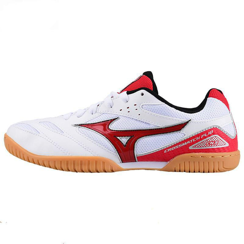 Оригинальная обувь Mizuno Cross Match Plio Cn для настольного тенниса для мужчин и женщин; обувь для тренировок в помещении; амортизирующая национальная команда; кроссовки - Цвет: 81GA183662