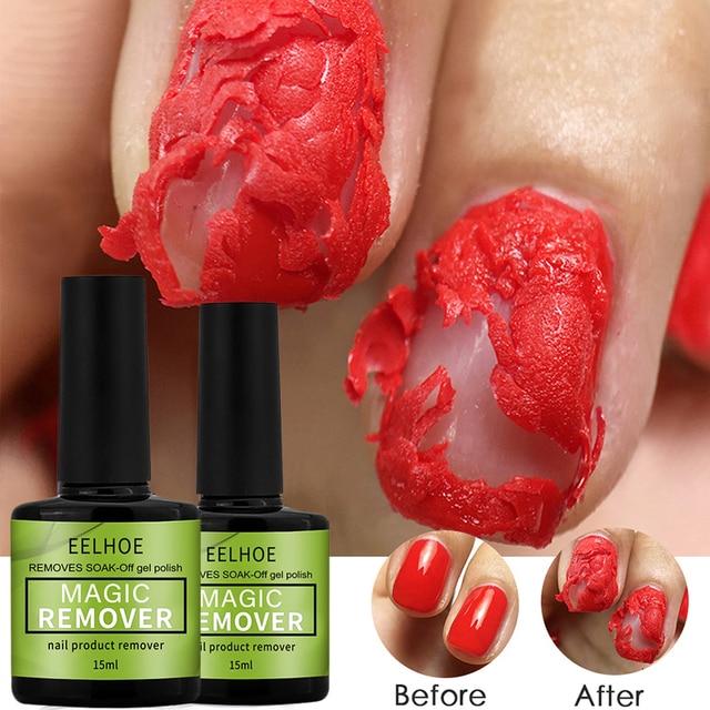 15ml Magic Burst Nail Gel Remover UV Gel Remover Fast Manicure Semi Permanent Nail Polish Soak Off Remover Polish Dropship 1