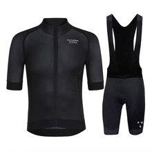 Black PNS 2020summer cycling Sweatshirt set men's Short Sleeve Shirt MTBJersey men's cycling clothing bicycle Maillot ciclismo
