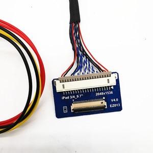 Image 5 - Placa de controle hdmi lvds 4k, para ipad 3 4 9.7 › spa1 spav spc1 2048x1536 edp painel lcd de 4 cordas 51 pinos