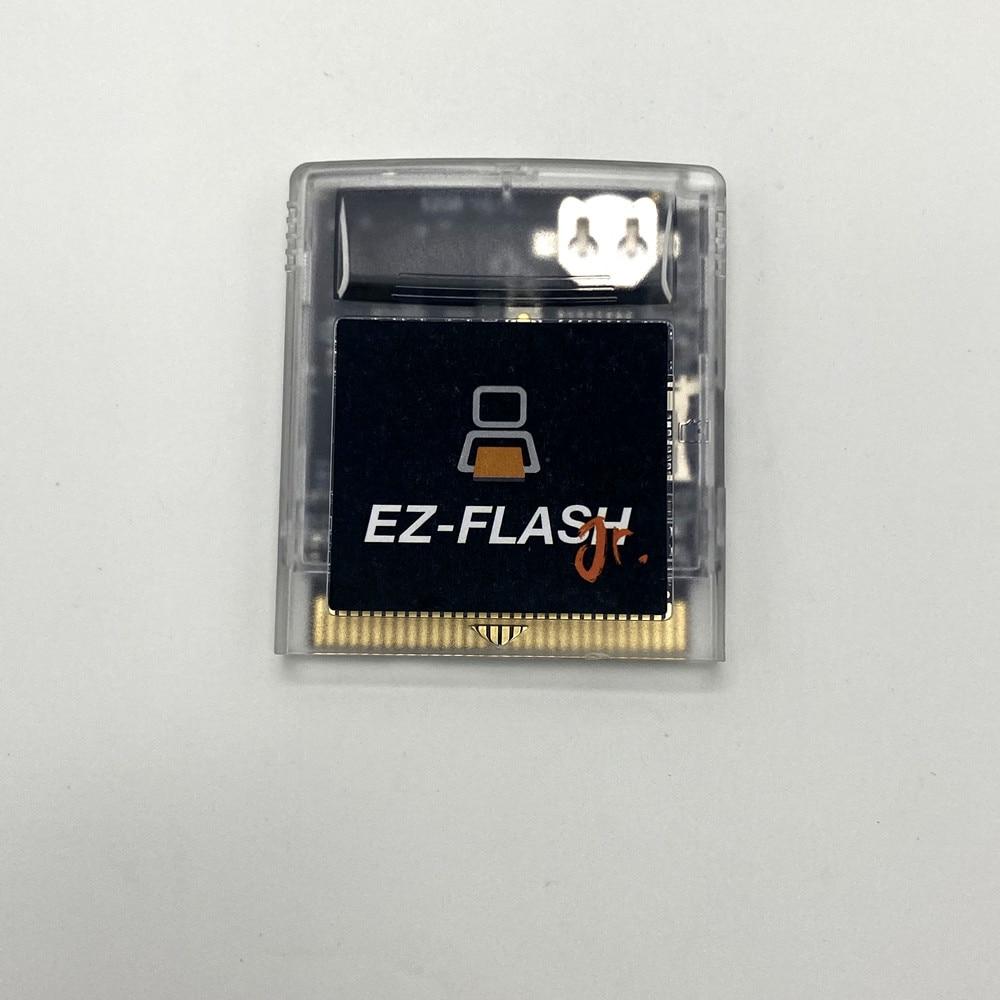 Ezgb EZ-FLASH junior gb gbc cartucho de jogo personalizado remix cartão de jogo para gameboy dmg gbp gbc jogo console cartucho