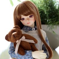 Full Set 1/4 BJD Doll BJD / SD Fashion Style Joint Resin Doll For Baby Girl Present Christmas Birthday Gift
