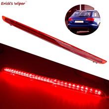 Erick-limpiaparabrisas LED 3. Luz de freno trasero, luces rojas LED para Audi A6 C6 Typ4F allroad quattro Avant RS6 2005 2006 2007 2008
