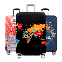 Thicken Luggage Protective Cover Travel Suitcase Case Elastic Dust Luggage Cover for 18-32inch Suitcase Covers Travel Accessorie