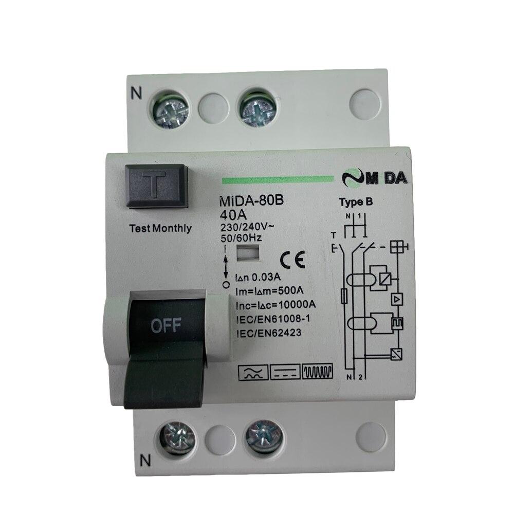 Circuit Breaker Fuse Breaker MCB 2-32 1P or 3P B or C