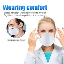 N95 Mask ffp2 KF94 Surgical Masks mouth caps Mask Anti Bacterial masque anti pollute urgical dust Masks 95% Filtration Cotton