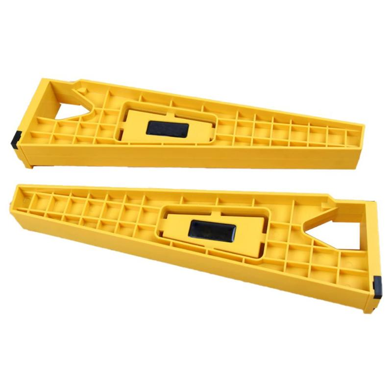 2pcs Cupboard Mount Installation Jig Auxiliary Positioning Fast Installation Of Locator Stable Durable Holder Drawer Slider