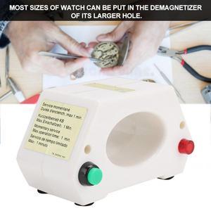 Image 2 - Professional Mechanical Wristwatch Demagnetizer Watch Demagnetizing Watch Repairing Tool Adjust Watch Time for Watch Repair Tool