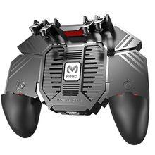 AK77 עבור PUBG משחק Gamepad עוזר נייד טלפון רדיאטור ידית מים מקורר מאוורר שש אצבעות Gamepad אנדרואיד Pubg הדק