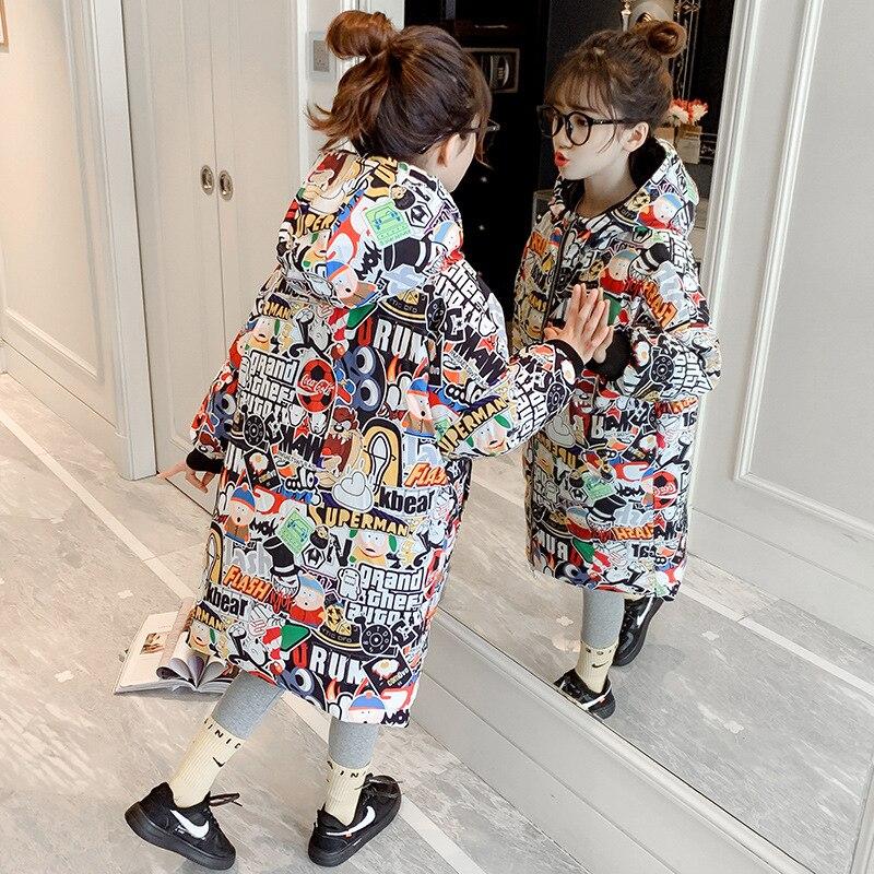 Ropa acolchada de algodón para niña, abrigo de invierno, ropa de invierno para niña pequeña
