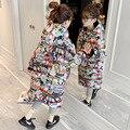 Одежда с хлопковой подкладкой для девочек, зимнее пальто для маленьких девочек, зимняя одежда для девочек, одежда для маленьких девочек, зим...
