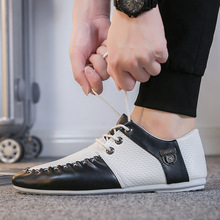 2018 new mens Casual Shoes canvas shoes for men outdoor walking fashion summer autumn Flats Male safety Lace-up man