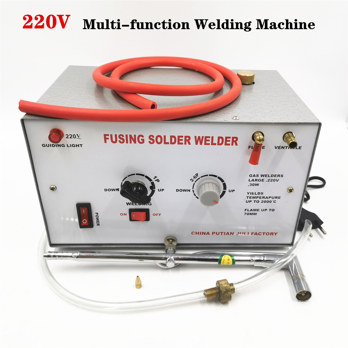 30W 220V Welding  Melting Machine Gold Silver Welding Melting   Soldering Maximum Temperature Up To 2000 Jewelry Welding Tools
