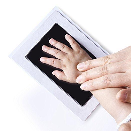 Cuidado del bebé no tóxico bebé huella dactilar Kit de impresión recuerdos para bebés de huella de recién nacido almohadill