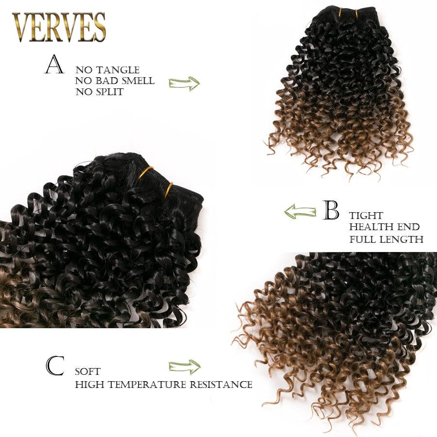 trança de cabelo sintético de tecelagem de