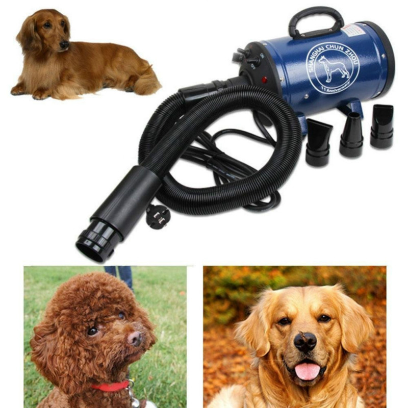 Pet Hair Dryer Water Blower Heater Air Duct Supplies Suitable for Large and Small Dogs Artifact