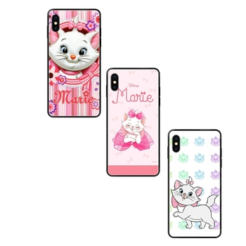 Marie Aristocats For Huawei P8 P9 P10 P20 P30 P40 Lite Plus Pro 2017 P Smart 2019 Half Price Black Soft TPU Cell Phone Case image
