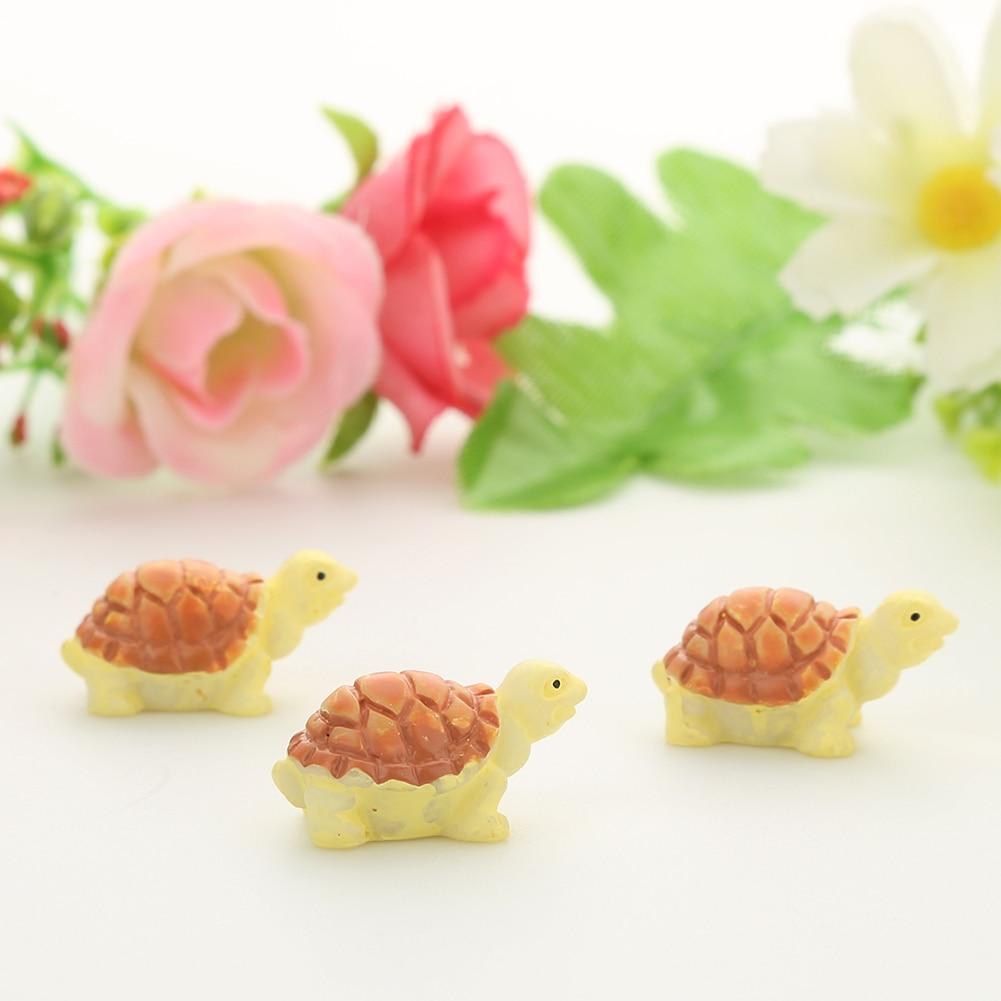 10шт миниатюра кукольный домик бонсай фея сад пейзаж черепаха украшения