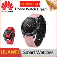 HUAWEI Honor montre intelligente pour les femmes santé et beauté étanche sport dames montres 2020 Smartwatch pour Iphone Android rose