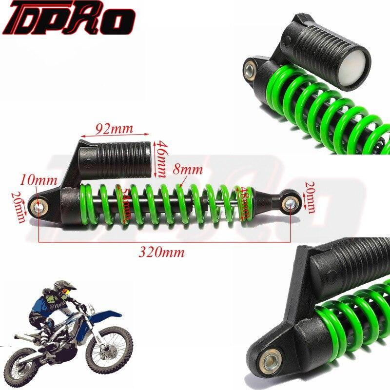 Pair 320mm Front Shock Absorber Shocker Suspension for ATV Quad Taotao Kazuma