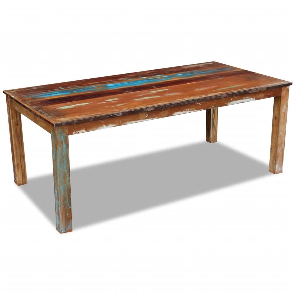VidaXL Dining Table Solid Reclaimed Wood 200x100x76 Cm
