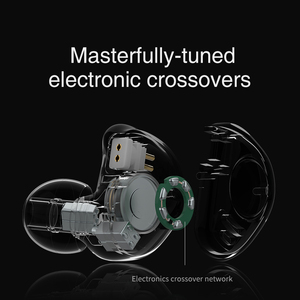 Image 5 - טורנירים V90 4BA + 1DD היברידי IEM 5 נהג Untis מתכת באוזן אוזניות אוזניות Auriculares HIFI צג ספורט ריצה שלב 2Pin V80