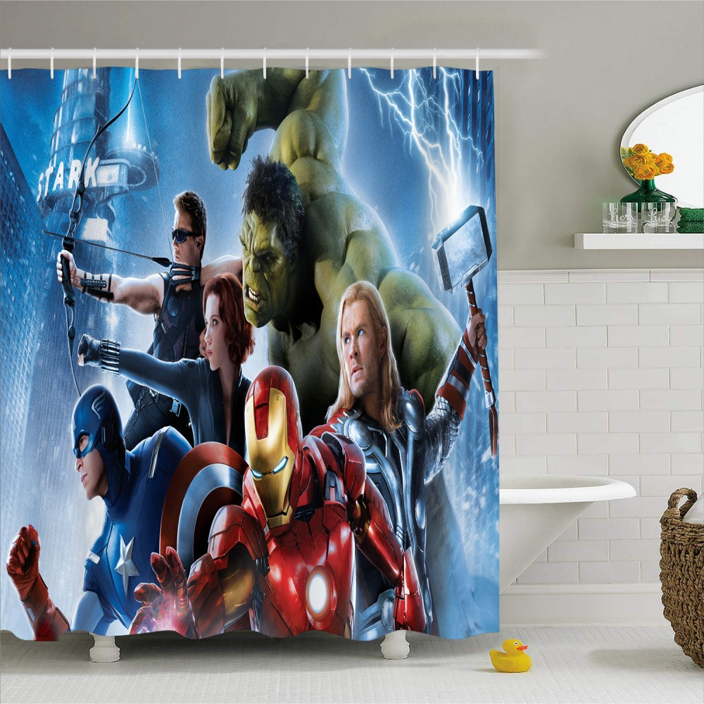 Avengers Alliance Hanging Curtain