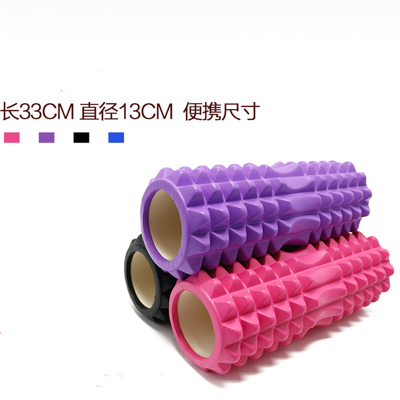 EVA Yoga Column Fitness Equipment Pilates  Foam Roller Blocks Train Gym Massage Grid Trigger Point Therapy Physio Exercise