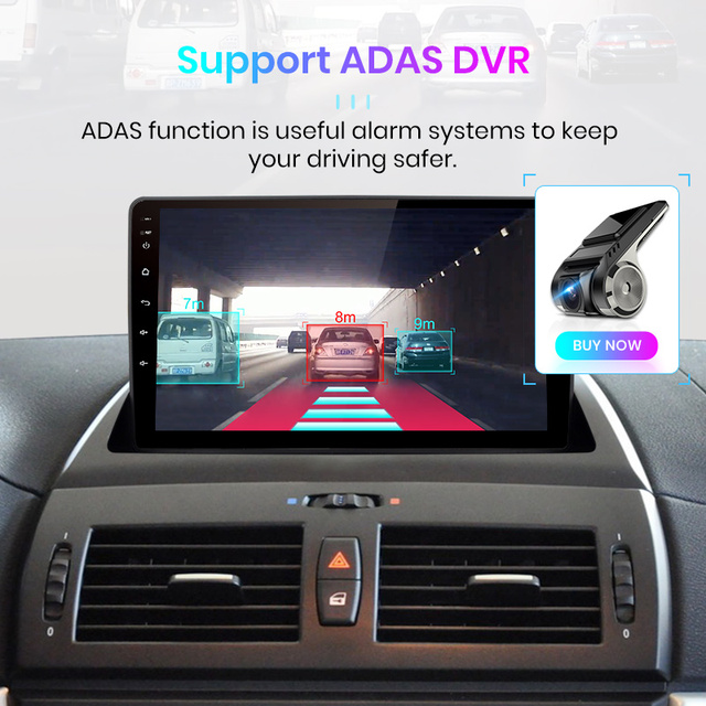 Junsun V1 pro 4G + 64G CarPlay Android 9.0 DSP dla BMW X3 E83 2004 - 2012 radioodtwarzacz samochodowy multimedialny odtwarzacz wideo GPS RDS 2 din dvd