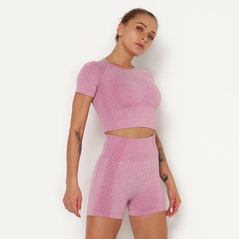 Kaminsky 14 Colors High Waist Seamless Leggings For Women Solid Push Up Leggins Athletic Sweat Pants Sportswear Fitness Leggings 25